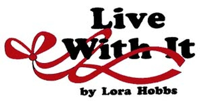 Live With It by Lora Hobbs logo
