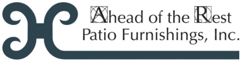 Ahead of the Rest Patio Furnishings logo